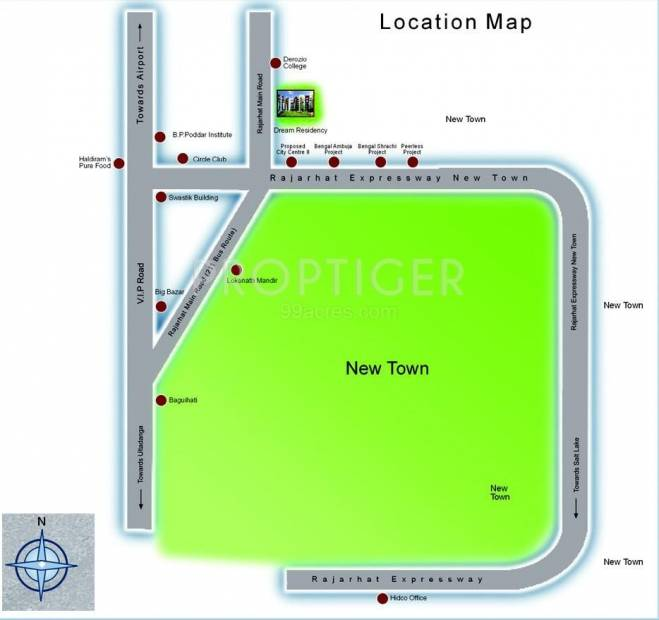 Images for Location Plan of Jain Dream Residency