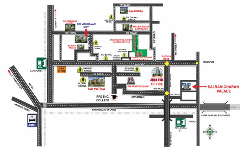 Images for Location Plan of Aastik Sai Amrita Enclave