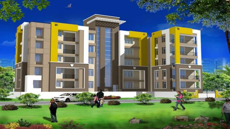 pushpanjali-apartment Elevation