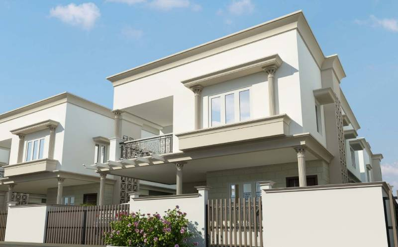 Images for Elevation of Sakthi Arum Lily Villa