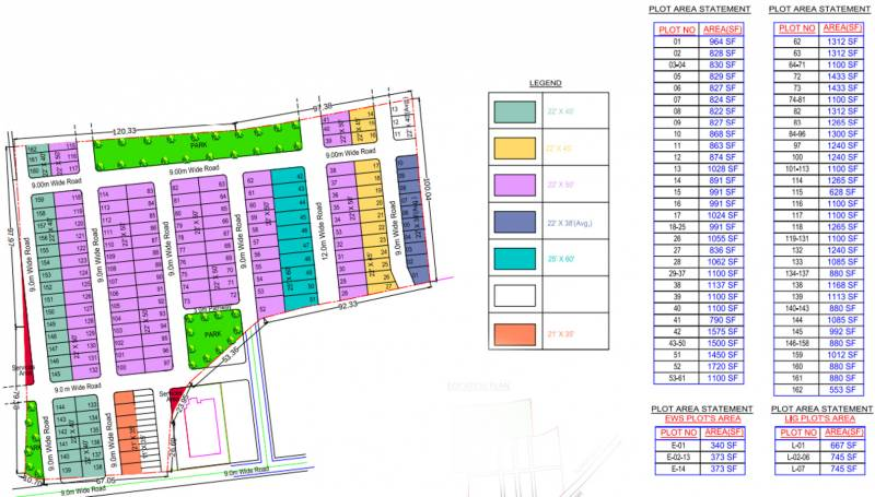 Images for Layout Plan of Shubham Greens Ext
