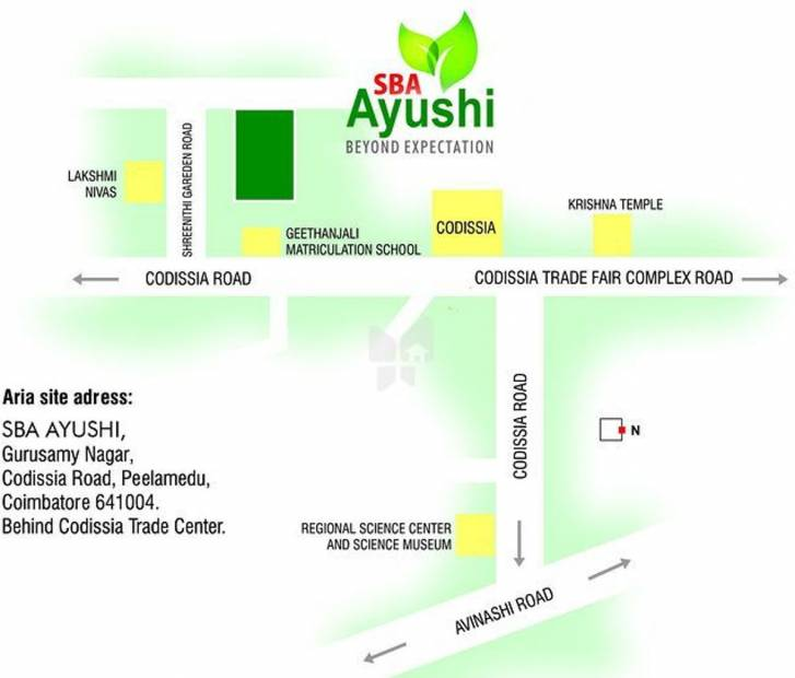 Images for Location Plan of SBA Ayushi