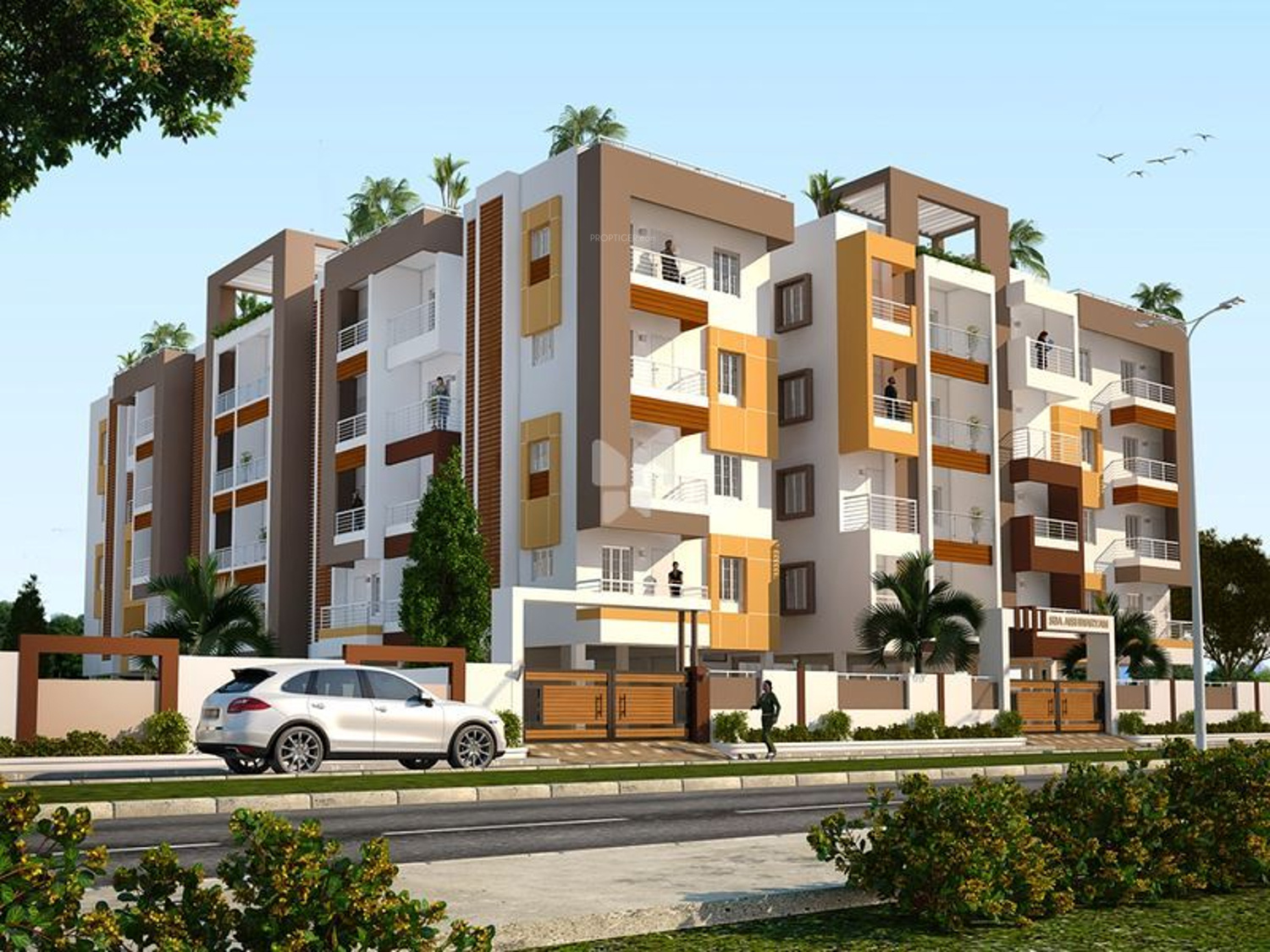 3 Bhk Apartments In Lamedu Residential Flats For Coimbatore Proptiger