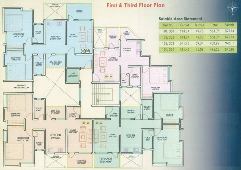 Images for Cluster Plan of Moraya Mangalam Residency