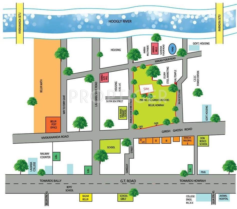 Forum Pravesh In Howrah Kolkata Price Location Map