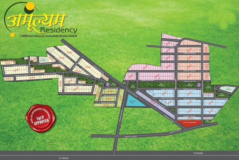 Images for Site Plan of Sar Amulyam Residency Phase I Villa