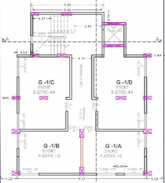 datta-sai-sankul Datta Sai Sankul Cluster Plan For Basement