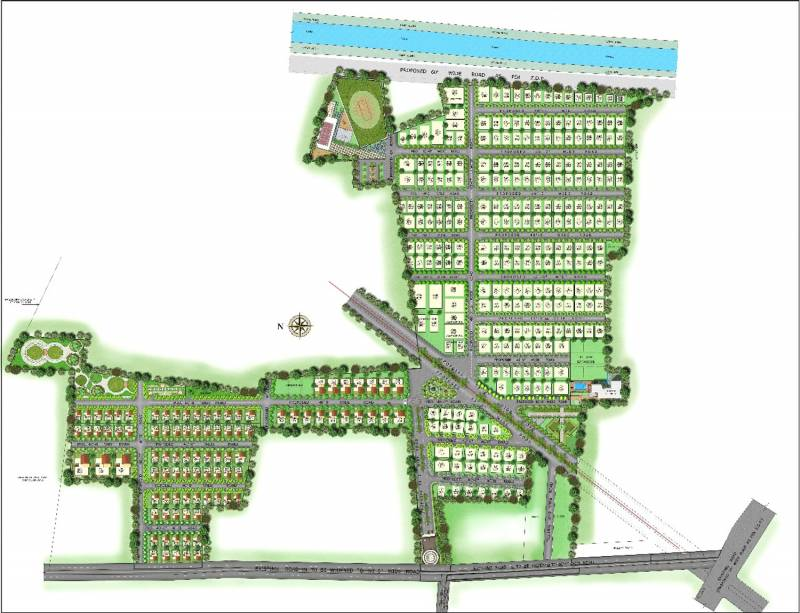 Images for Layout Plan of Vertex Capital County Villa