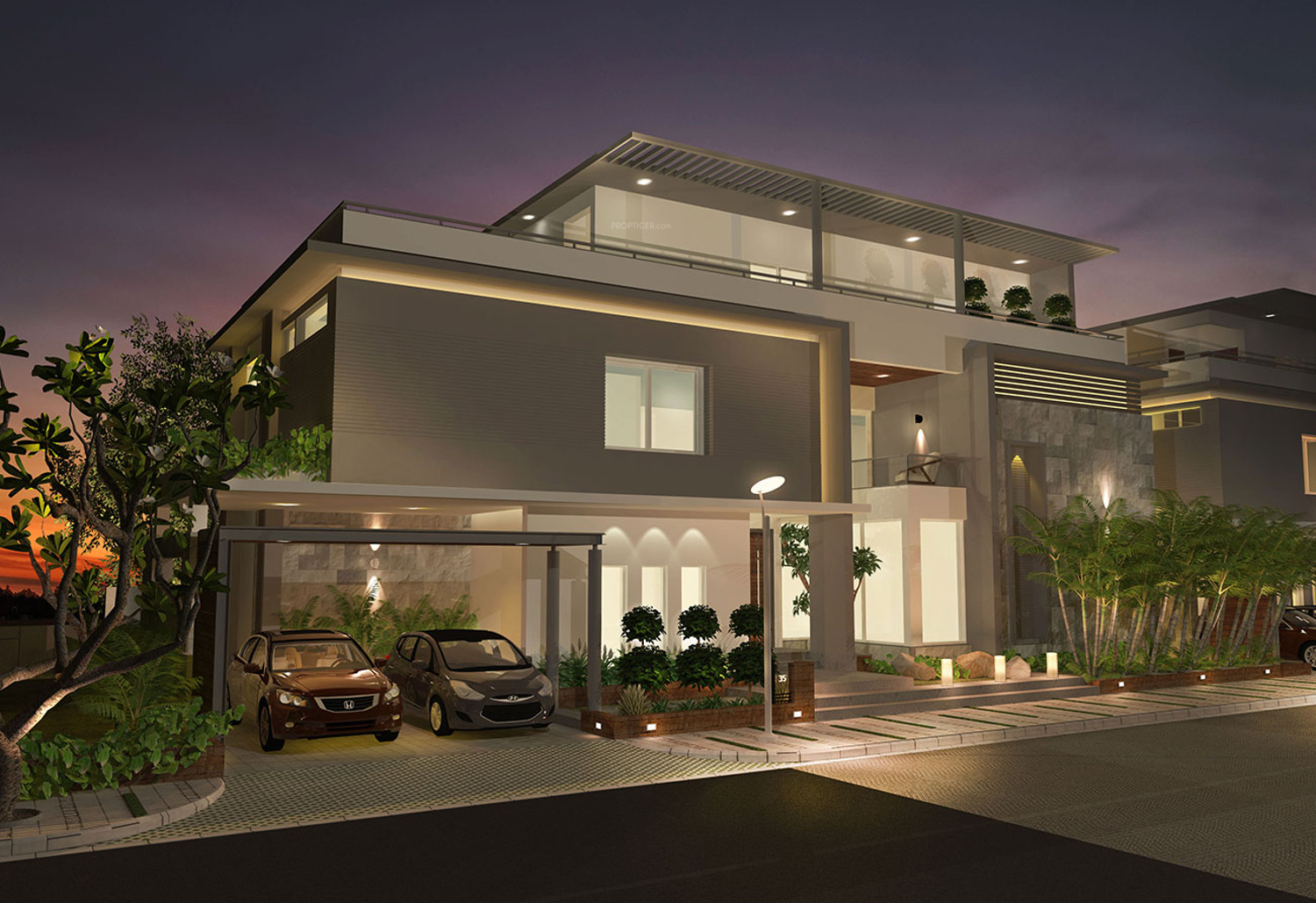 2640 sq ft 3 bhk 3t villa for sale in levonor projects