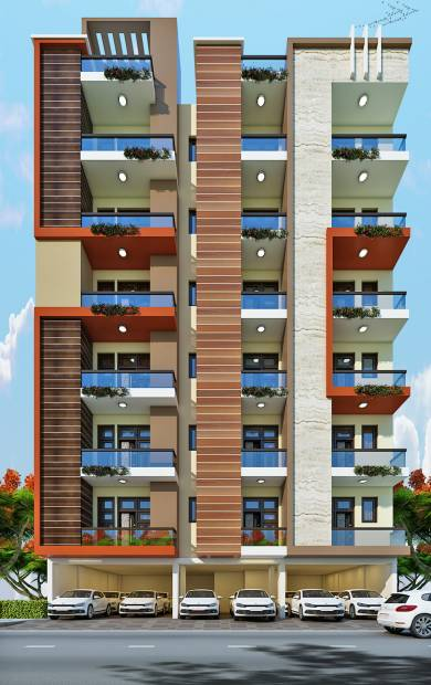 Images for Elevation of Maan Rishi Apartment