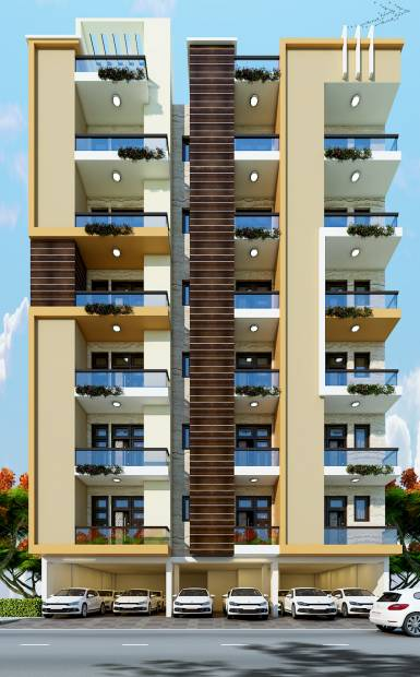 Images for Elevation of Maan Sona Apartment