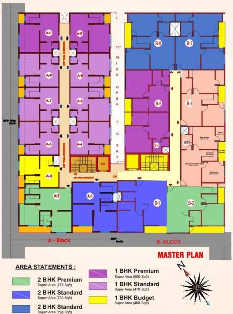 Images for Cluster Plan of Escon Kendriye Awas And Awasiye Yojna