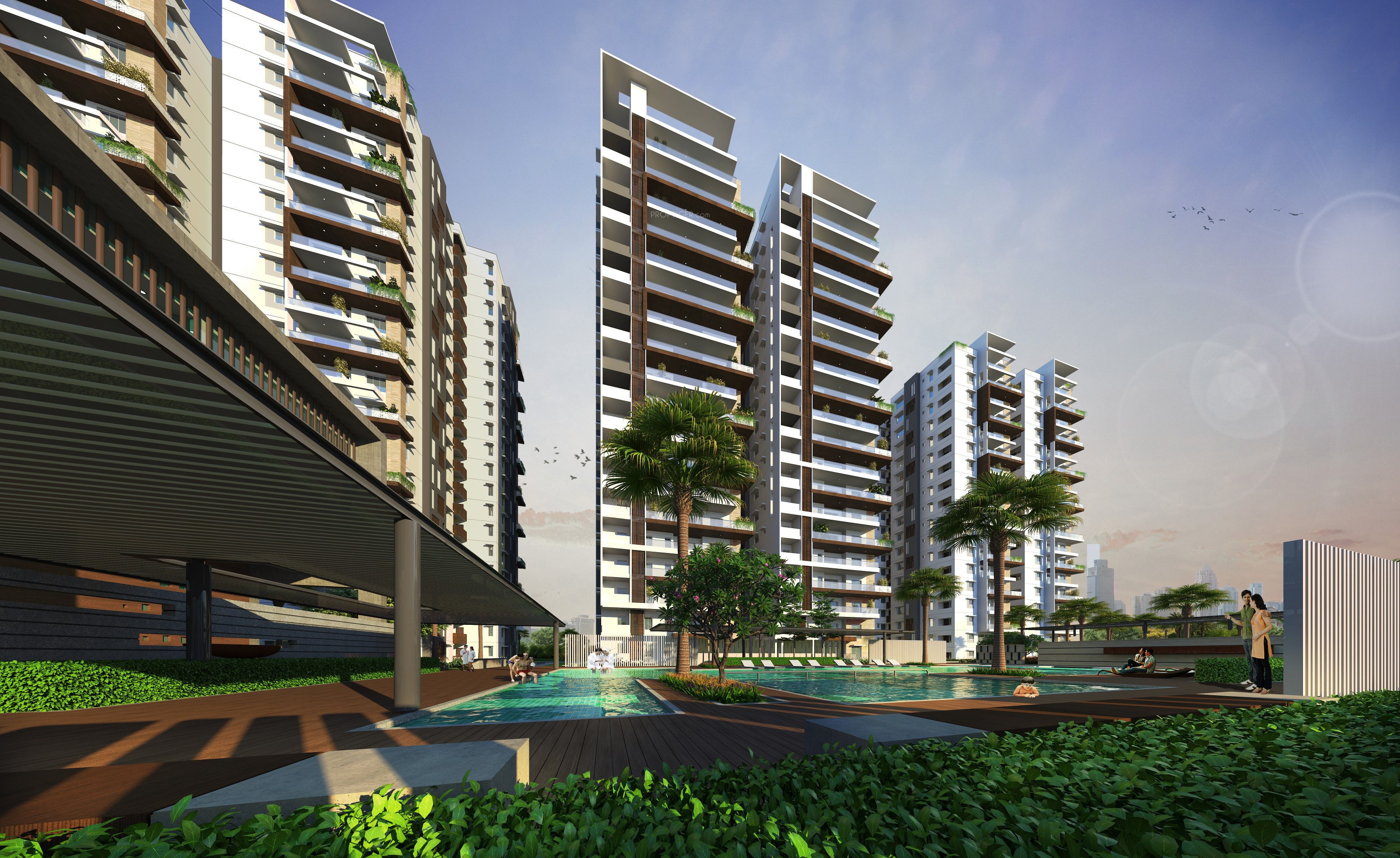 2476 Sq Ft 3 Bhk 3t Apartment For Sale In Jayabheri Group