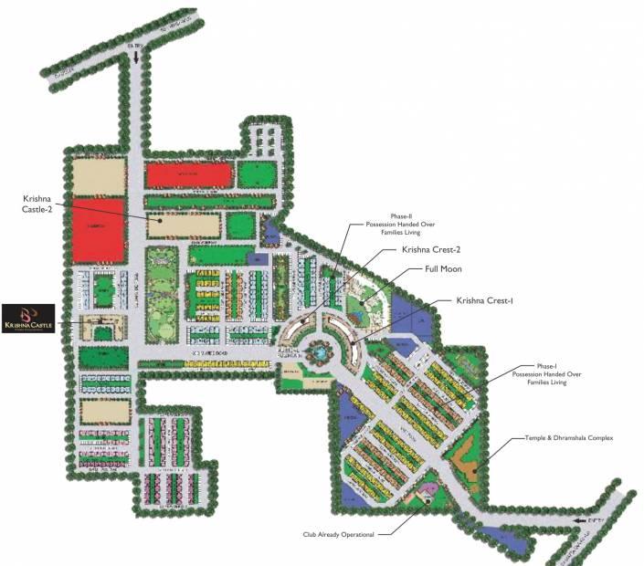Images for Master Plan of Omaxe Krishna Castle