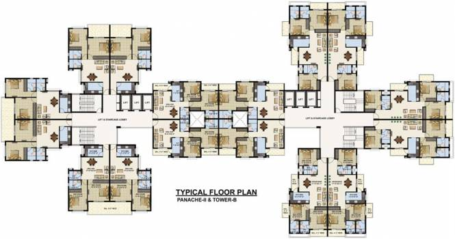 Images for Cluster Plan of Omaxe Twin Tower