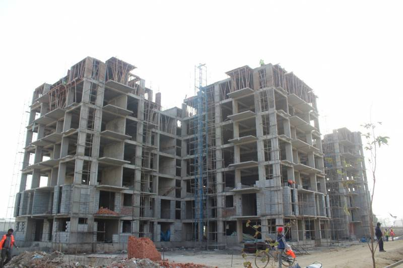 Images for Construction Status of Omaxe Twin Tower