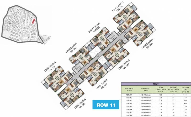 Images for Cluster Plan of Provident Adora De Goa 1 Balinese Residences