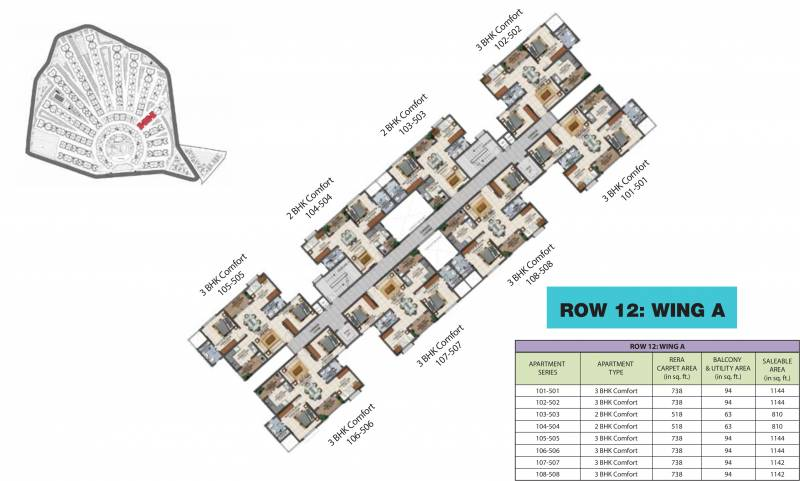 Images for Cluster Plan of Provident Adora De Goa 1 Balinese Residences