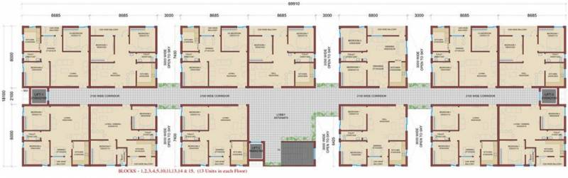 Images for Cluster Plan of Maruthi Shanthi Nivas