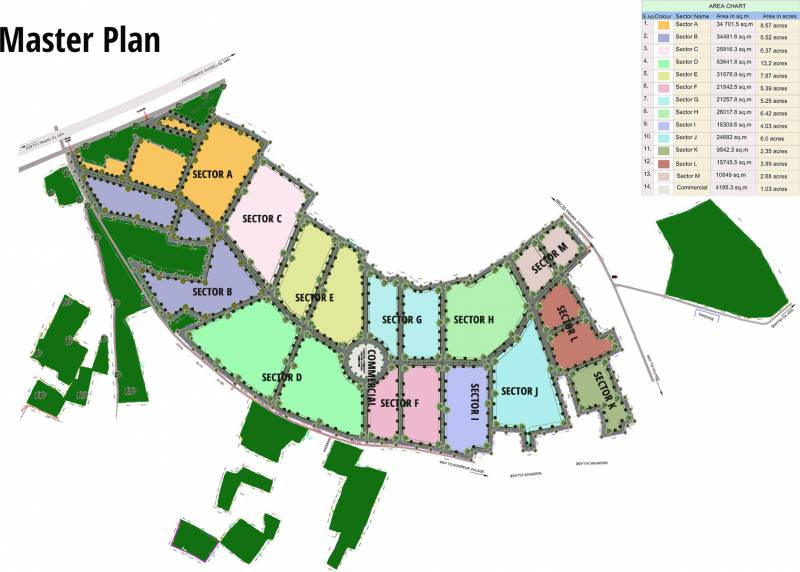 Images for Master Plan of Ansar A1 City