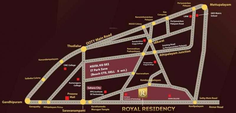 Images for Location Plan of Green Nest Royal Residency