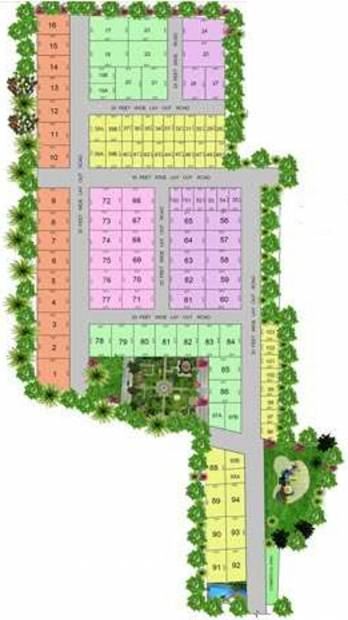 Images for Master Plan of Green Nest Royal Residency