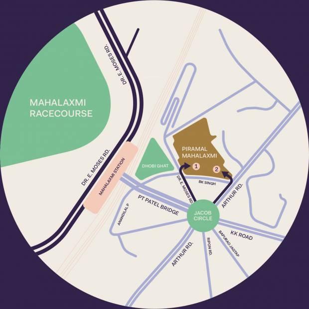 Images for Location Plan of Piramal Mahalaxmi