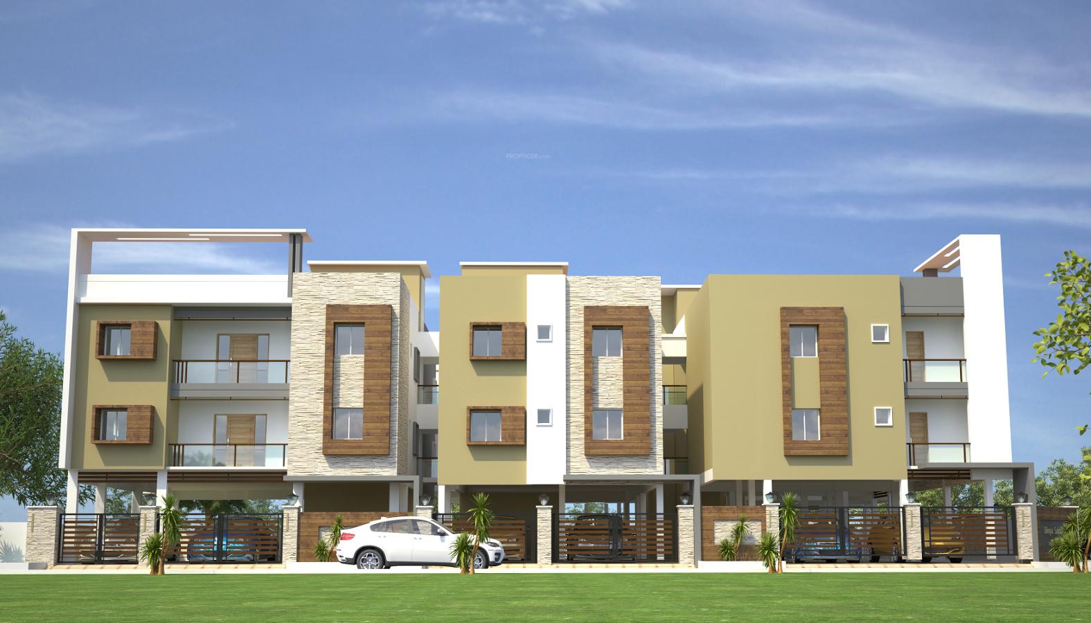895 Sq Ft 2 Bhk 2t Apartment For Sale In Divya Dipti