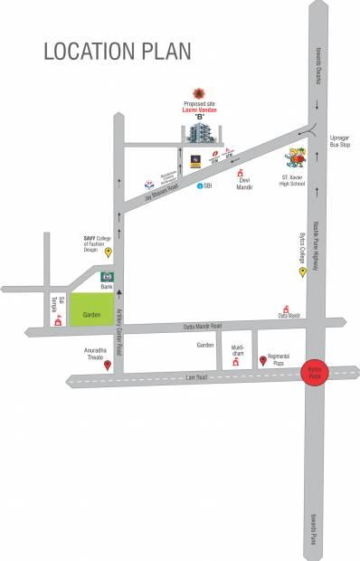 Images for Location Plan of Rishi Laxmi Vandan Apartment