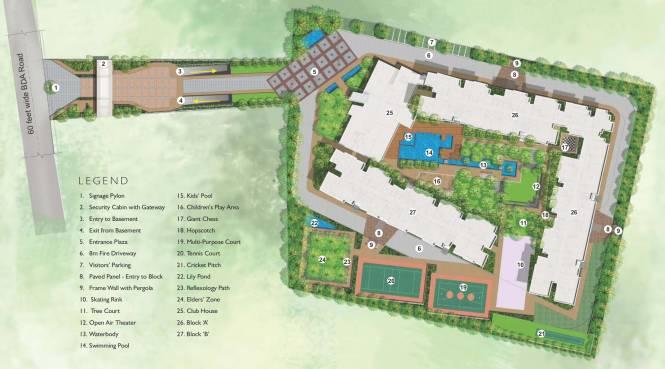 Images for Master Plan of SLV Central Park