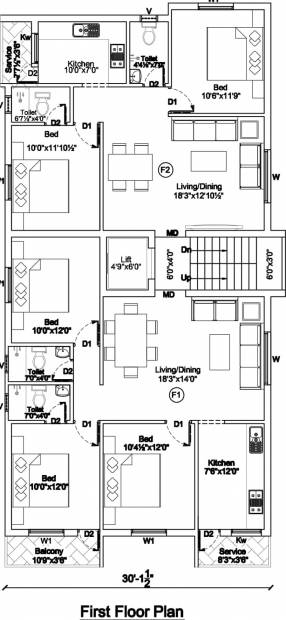 Images for Cluster Plan of Aadhiti Ecstacy