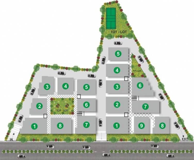 Images for Layout Plan of Utkarsha Abodes