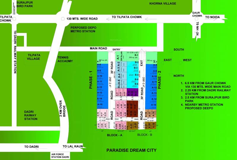 Images for Location Plan of RSA Paradise Dream City