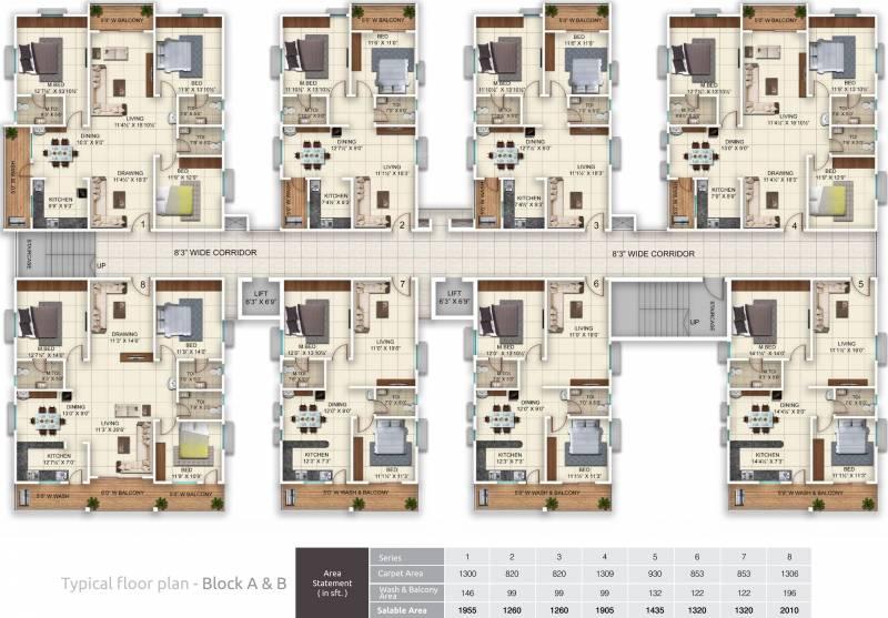 Images for Cluster Plan of Vazhraa Vihhari