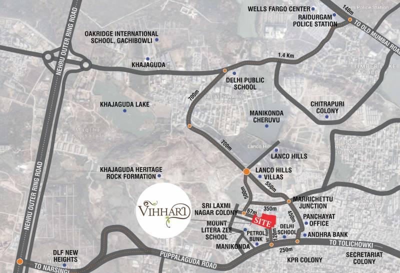 Images for Location Plan of Vazhraa Vihhari