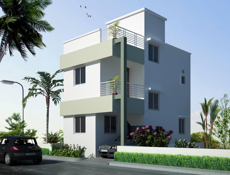Images for Elevation of Amazze Abi Krishna Villas