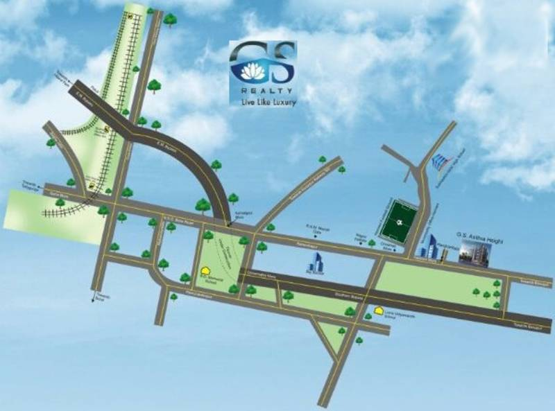 Images for Location Plan of GS Astitva Heights