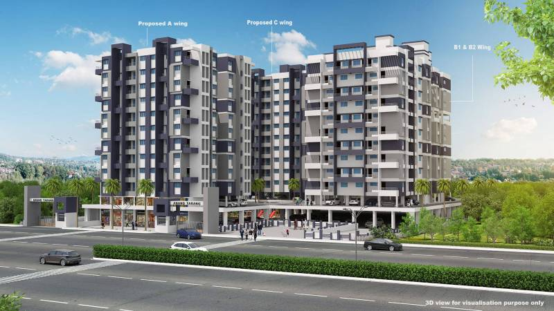 Images for Elevation of Lunkad Anand Tarang C Building
