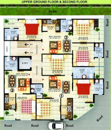 Images for Cluster Plan of APS Homes