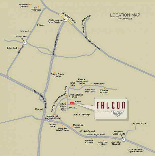 Images for Location Plan of Fortune Green Falcon