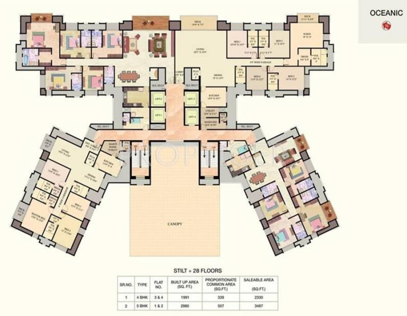 Images for Cluster Plan of Hiranandani House of Hiranandani Egattur