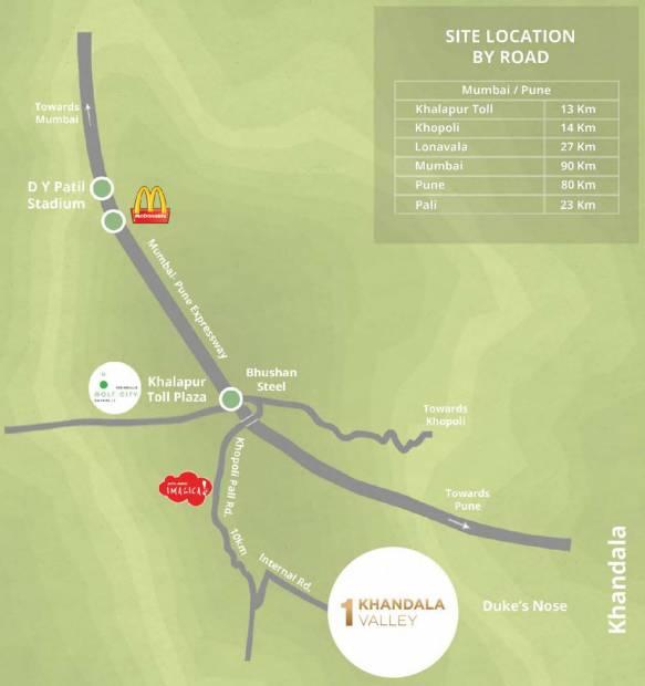 Images for Location Plan of Woodlands 1 Khandala Valley Miraya