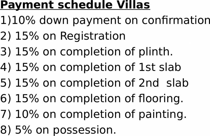 Images for Payment Plan of Woodlands 1 Khandala Valley Miraya