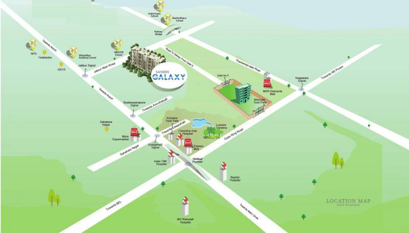 Images for Location Plan of Sansidh Galaxy