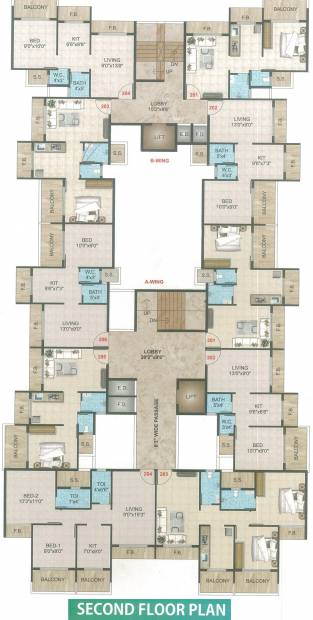 Images for Cluster Plan of Saisha Residency