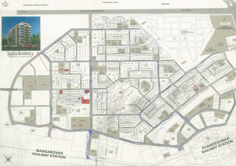 Images for Location Plan of Saisha Residency