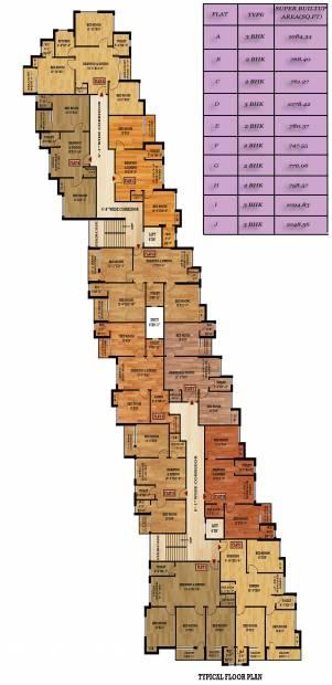 Images for Cluster Plan of Mondal Samridhi Residency
