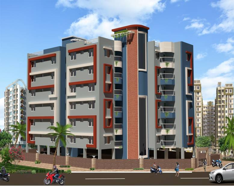 Images for Elevation of Mondal Porichoy Apartment