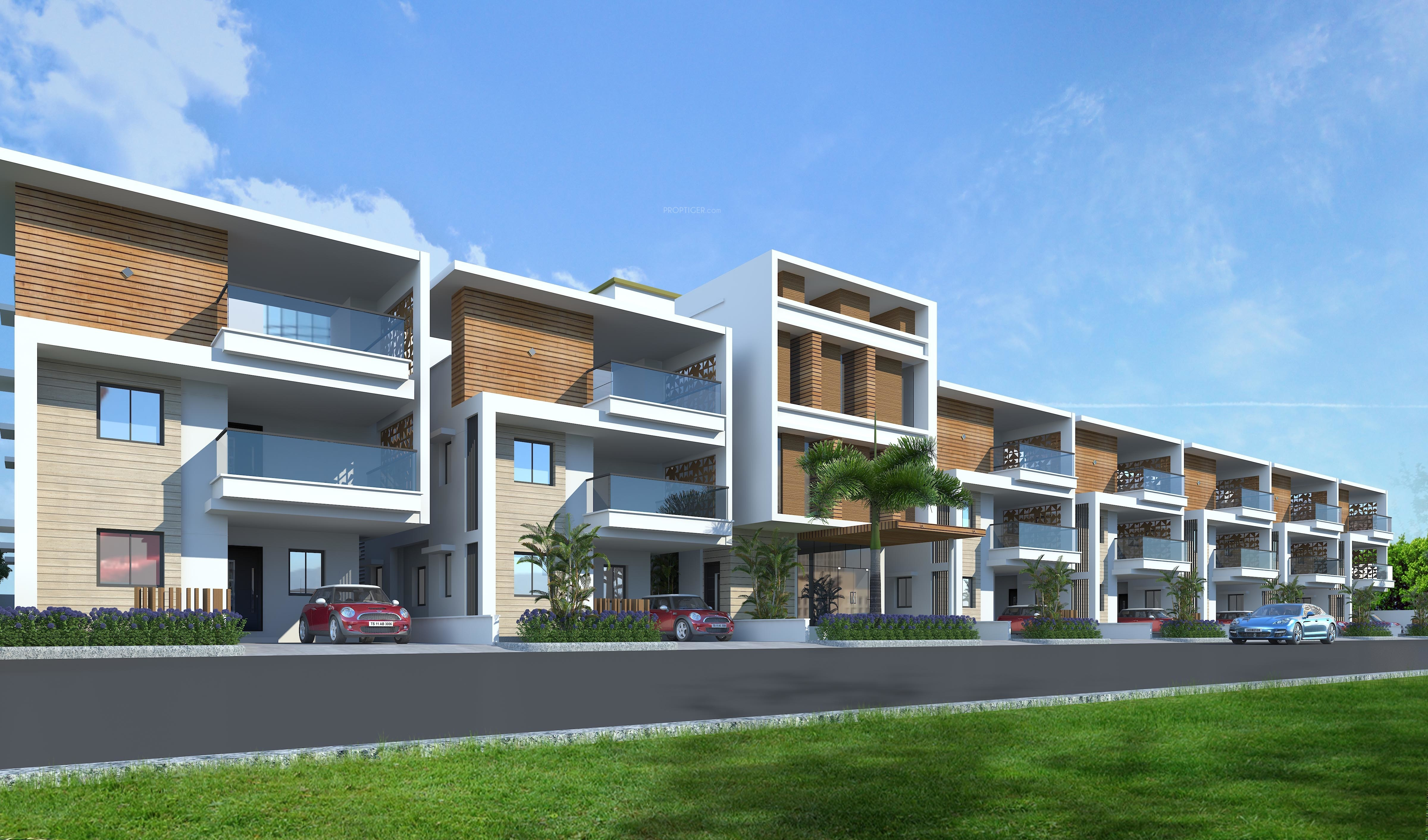 Luxury House In Hyderabad Buy Luxury Independent Villas For Sale