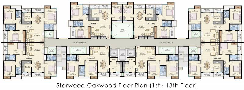 Images for Cluster Plan of Navin Starwood Towers 2